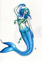 Blue Mermaid by MyWorld1