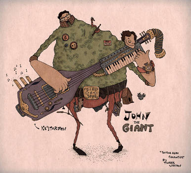 John the Giant by Papposilenos