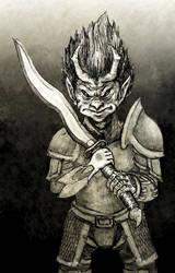 Immuli Warrior by Papposilenos