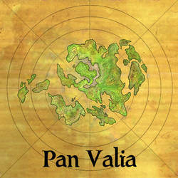The Continent of Pan Valia by Papposilenos