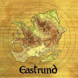 The Continent of Eastrund by Papposilenos