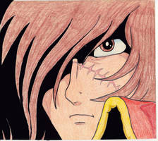 Captain Harlock by Sherms