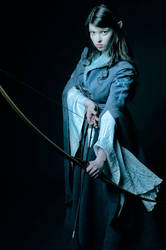 The Elvish Huntress by Mircalla-Tepez