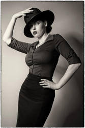 Vintage Lady by Mircalla-Tepez