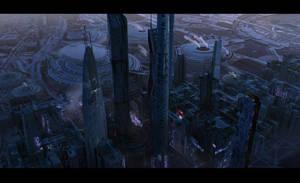 futu city 2 by Scharborescus