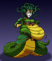 Flabby Medusa by Yer-Keij-fer-Cash