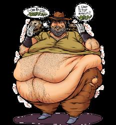 Old Joseph Fatty by Yer-Keij-fer-Cash