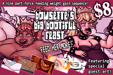 Bowsette's Big Bootiful Feast by Yer-Keij-fer-Cash
