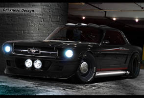 Darkness Design - Ford Mustang by DarknessDesign