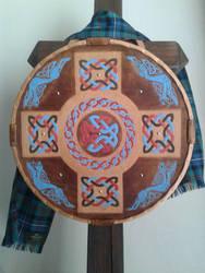 Scottish Targe by jedlybravo
