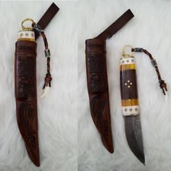 Puukko and sheath by jedlybravo