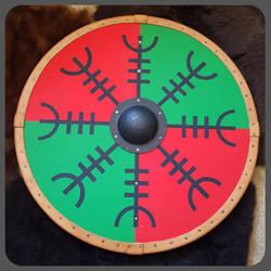 Viking shield by jedlybravo