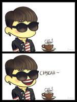 Coffee Shop - CHYEAHHH~ by jinscloud