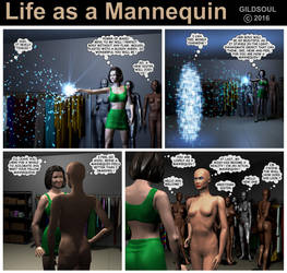 Life as a Mannequin 01 by Gildsoul by Gildsoul