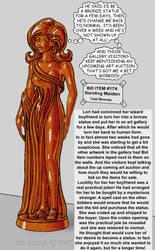 A Suspicious Bronze Statue by Gildsoul by Gildsoul