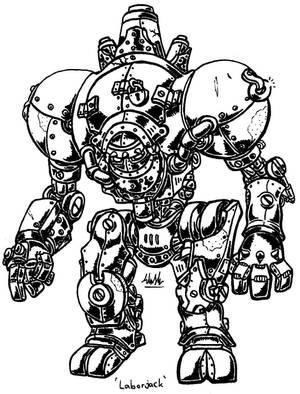 Heavy Laborjack by binkibonsai