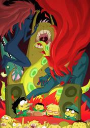 Bullitt y las diablas by Luis-Moreno