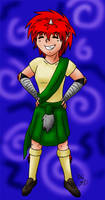 Kilted Jin by Frozen-Fortune