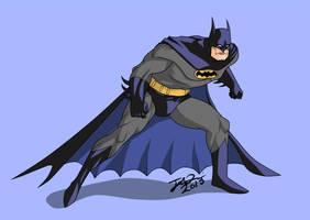 Batman Animated by MangleDangle