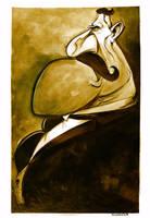 P Stone Chesterton Portrait by sosnw