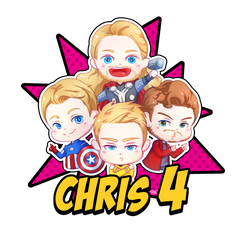 Chris 4 by MitskiMing