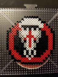 Blackwatch Perler Badge by The-Serene-Mage
