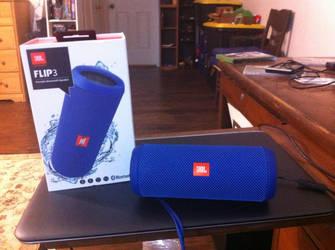 JBL FLIP 3 Water Proof Bluetooth Portable Speaker by MarcusMcCloud100