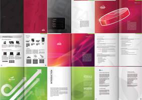 Delta H. Catalogue Spreads by VanSage