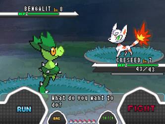 Pokemon Aether Battle system V1 by CupOJo