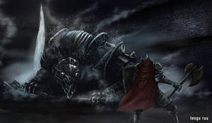 Dark Souls 3 - Vordt of the Boreal Valley by OniRuu