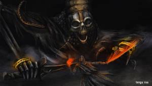 Dark Souls 3 - High Lord Wolnir by OniRuu