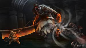 Dark Souls 3 - Yhorm the Giant by OniRuu