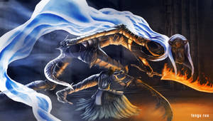 Dark Souls 3 - Dancer of the Boreal Valley by OniRuu