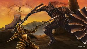 Dark Souls 3 - Dragonslayer Armour by OniRuu