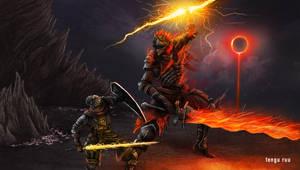 Dark Souls 3 - Soul of Cinder by OniRuu