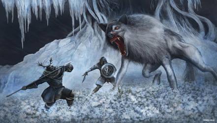 Dark Souls 3 - Champion's Gravetender by OniRuu