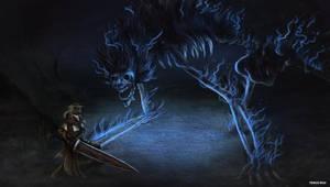 Bloodborne - Darkbeast Paarl by OniRuu