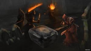 Bloodborne - Shadows of Yharnam by OniRuu