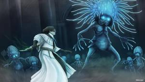 Bloodborne - Celestial Emissary by OniRuu