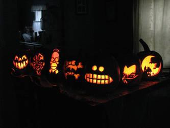 Pumpkins 2010 by unseeliefaery