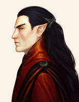 Feanor by EllirhShaan