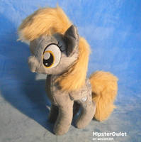 Handmade Derpy Hooves Plushie by HipsterOwlet