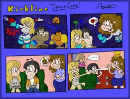 Kickline Short: Space Case by AgentC-24