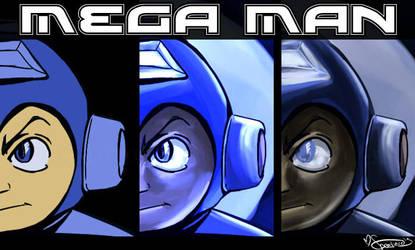 Mega Man Joins the Battle by Speedvore