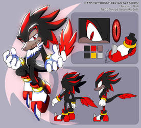 CE: Shadow The Raptor by D-Thessy