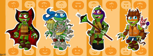 TMNT Costume #1-Monster Turtles by yipkarhei2001