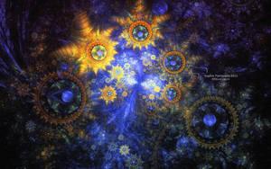 Cosmos astrolabes by Princess-Suki-W