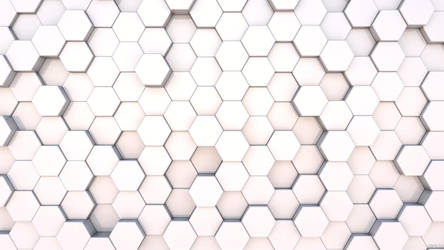 3D Hexagons Wallpaper by kopofx
