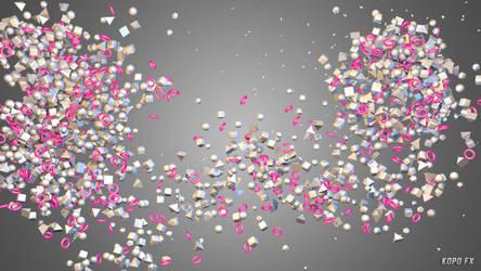 3D Particles Wallpaper 6 by kopofx