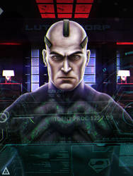 Lex Luthor ( Concept Confront ) by Rodrigo-Sanches-A
